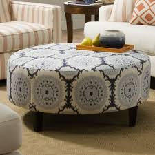 ottoman designs furniture. anniston asia denim blue round cocktail ottoman designs furniture