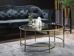 2 day free shipping on thousands of products! Coffee Table Black With Gold Florence Beliani Co Uk Coffee Table Gold Coffee Table Glam Coffee Table