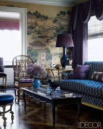 The colors. In this Manhattan living room, the custom-made sofa is  upholstered in a Luigi Bevilacqua cotton, the Rococo-style cocktail table  was found at ...