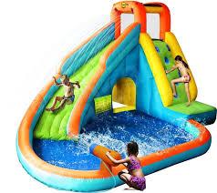 inflatable inground pool slide. Image Of: Inflatable-pools-with-slides Inflatable Inground Pool Slide W