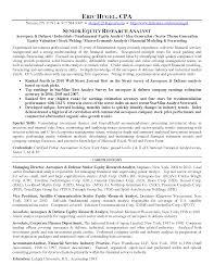 modern research analyst resume medium size modern research analyst resume  large size - Equity Research Resume