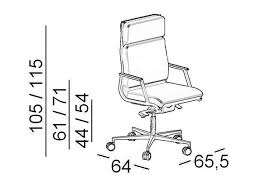 dimensions nulite executive chair