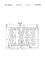 patent us5018290 exit sign google patents patent drawing