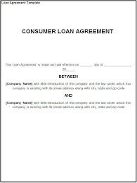 Letter Template Sample Loan Agreement 253452716359 Format