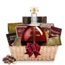 d usse cognac gift basket