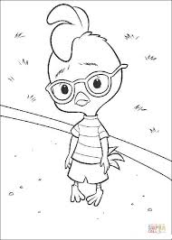 Small Picture Chicken Little is Sad coloring page Free Printable Coloring Pages