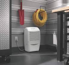 use a basement dehumidifier to make