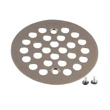 MOEN 4-1/4 in. Tub and Shower Drain Cover for 2-5/8 in. Opening in ...
