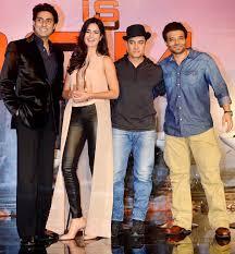 Aamir Khan, Katrina Kaif & Abhishek Bachchan and Uday Chopra promoted  'Dhoom 3'. #Fashion #Style #Bollywood #Beauty #Handsome   Dhoom 3, Style,  Style inspiration