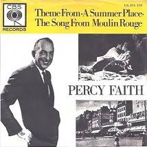 45cat percy faith and his orchestra theme from a summer place the song from moulin rouge cbs netherlands ca 281 139