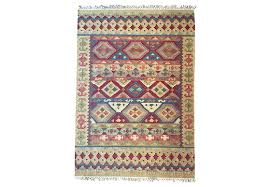 l rug area rug in a mixture of red purple blue green and cream colors archiveals