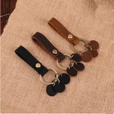 details about detachable key chain leather belt loop key holder ring keychain keyring keyfob