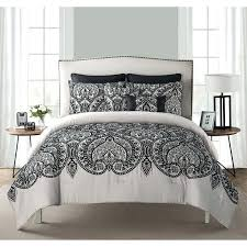 paisley king bedding home flocked paisley bedding comforter set with euro shams multiple sizes and colors paisley king bedding