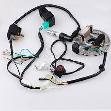 lifan zeppy io 50 125cc kick start dirt pit bike wire harness cdi coil magneto fits lifan lonci