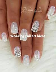 35 Simple Ideas For Wedding Nails Design Weddingnails Nailart