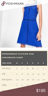 Ted Baker Dress Size Chart Ted Baker London Dress New With Tags Ted Baker Size 2 In