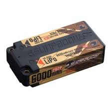 <b>Аккумулятор Sunpadow</b> Gold HV <b>LiPo</b> 7.6V <b>2S2P</b> 6000mAh 100C ...