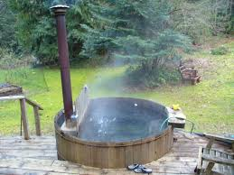 woodburning hot tub 361 best wood fire hot tubs yes please images on