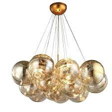 leaf chandelier antique gold finish with clear glass by lighting silver chandeliers