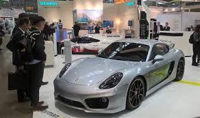 Porsche Cayman Electric Car