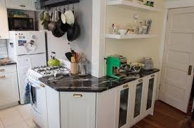 Pot Racks For Small Kitchens Small Apartment Kitchen Makeover Nw Homeworks