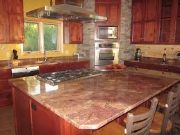 Granite Countertops In Kitchens Red Granite Countertops Colors