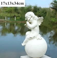 garden statues angel village ornaments retro decorative figurines cupid resin crafts wedding decorations sydney
