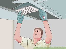 cool a room without ac. Delighful Without Image Titled Cool Yourself Without Air Conditioning Step 13 For A Room Ac
