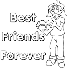 Small Picture Friendship Coloring Pages Coloring Pages