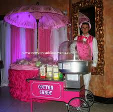 Cotton Candy Stand Display Cotton candy rental cotton candy machine New York Long Island 2