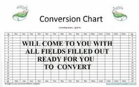 Details About Baby Weight Conversion Chart Convert Grams Lbs Ozs Reuse Reborn Supplies