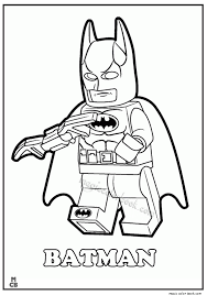 Small Picture Coloring Page Lego Batman Joker Coloring Pages Batman Coloring