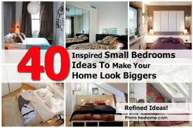 How To Make A Small Room Look Bigger Small Bedroom Ideas To Make Your Room Look Bigger Actual Home With