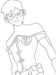 Unique Nightwing Coloring Pages Coloringpageskidsme