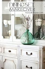 whitewashing furniture with color. Whitewashing Furniture With Color Beautiful Whitewashed Gray Dining Set Easy Chalk Paint Makeover Via I