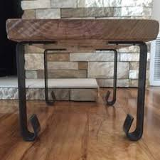 modern metal furniture legs. handcrafted forged rustic reclaimed metal coffee table legs steel straight rectangle brackets modern bracket storage furniture