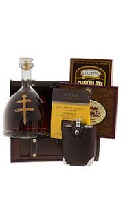 cognac et chocolat gift basket