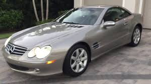 The sophisticated hardtop on the mercedes not only raises and lowers almost twice as fast as the one. 2004 Mercedes Benz Sl500 Roadster Review And Test Drive By Bill Auto Europa Naples Youtube