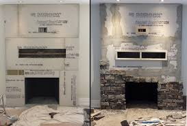 large size of fireplace how to put stone on fireplace veneer diy cost stacked