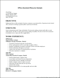Sample General Objective For Resume Examples Of Objective For Resume Thrifdecorblog Com
