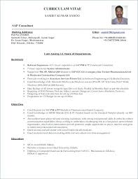 recruitment consultant cv consultant resume format resume tutorial pro