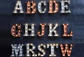 vintage marquee lighting l