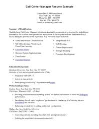Sample Resume For Bpo Jobs Luxury Ideas Call Center Samples 8 Job