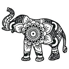 Elephant Coloring Page Trustbanksurinamecom