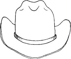 Cowboy Hat Coloring Pages 2151380