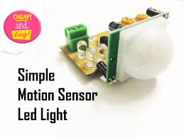 How To Make A Simple Light Make An Simple Motion Sensor Light Pir 13 Steps With