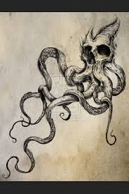 Small Picture Best 20 Kraken tattoo ideas on Pinterest Octopus sketch Pirate