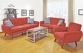 Mid Century Living Room Set Mid Century Modern Sofa Loveseat Living Room Set Orange County