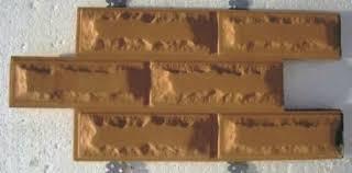 Decorative Cement Tiles Plastic Molds for Concrete Plaster Wall Stone Cement Tiles Fork 100 45