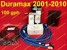 diesel lift pump airdog 6 6 6 6l duramax diesel 100 gph lift pump filter 2001 2010